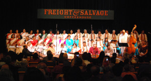 Rita Sahai and Choir